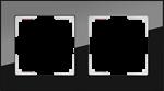 Изображение Рамка на 2 поста (черный)