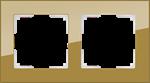 Изображение Рамка на 2 поста (бронзовый)