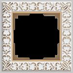Изображение Рамка на 1 пост (белое золото)