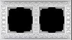 Изображение Рамка на 2 поста (жемчужный)