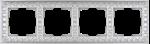 Изображение Рамка на 4 поста (жемчужный)