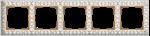 Изображение Рамка на 5 постов (белое золото)