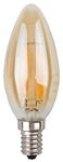 Изображение Лампа светодиодная F-LED B35-7w-827-E14 gold