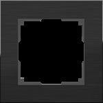 Изображение Рамка на 1 пост (черный алюминий)
