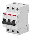 Изображение Автоматичесикий выключатель 3P 6A C 4.5кА BMS413C06 ABB