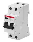 Изображение Автоматические выключатели дифференциального тока АВДТ 1P+N 10А C 30мA AC BMR415C10 ABB