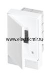 Изображение Бокс в нишу Basic E ЩРв-П 2М белая непрозрачная дверь (без клемм) ABB
