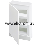Изображение Бокс настенный Basic E ЩРн-П 36М белая непрозрачная дверь (с клемм) ABB