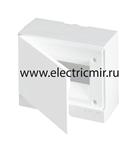 Изображение Бокс настенный Basic E ЩРн-П 8М белая непрозрачная дверь (с клемм) ABB