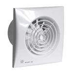 Изображение S&P SILENT Вентилятор с датч. влажности и таймером 95 куб.м/ч, 8Вт, 100мм, малошумный