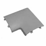 Изображение Угол плоский для напольного канала 75х17 мм APSP G, цвет серый