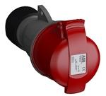 Изображение ABB Розетка кабельная 32А 3Р+N+E IР44 переносная 415В Easy&Safe (432EC6)