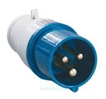 Изображение Вилка кабельная 16А 2Р+E IР44 переносная 250В 013 (PSR01-016-3) IEK