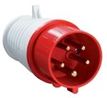 Изображение Вилка кабельная 16А 3Р+N+E IР44 переносная 380В 015 (PSR02-016-5) IEK