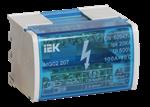 Изображение Шина на DIN-рейку в корпусе (кросс-модуль) L+PEN 2х7 (YND10-2-07-100) IEK