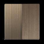 Изображение Набор клавиш для выключателя двухклавишного (бронзовый)