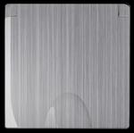 Изображение Накладка для розетки IP44 с крышкой (глянцевый никель)
