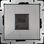 Изображение Розетка Ethernet RJ-45 (глянцевый никель)
