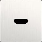 Изображение Накладка для розетки HDMI (перламутровый рифленый)