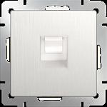 Изображение Розетка Ethernet RJ-45 (перламутровый рифленый)