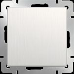 Изображение Выключатель одноклавишный (перламутровый рифленый)