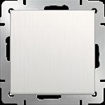 Изображение Выключатель одноклавишный проходной (перламутровый рифленый)
