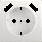 Изображение Накладка для USB розетки (перламутровый рифленый)