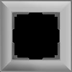 Изображение Рамка на 1 пост (серебряный) Fiore