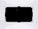 Изображение Рамка для двойной розетки (белый, basic) Snabb basic