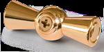Изображение Ручка выключателя 2 шт. (золото) Ретро