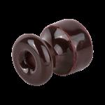 Изображение Изолятор 10 шт.(коричневый) Ретро