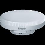 Изображение Лампа светодиодная LED 10вт GX53 белый таблетка (61017 NLL-GX53)