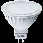 Изображение Лампа светодиодная LED 3вт 230в GU5.3 тепло-белая (94255 NLL-MR16)