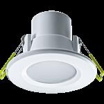 Изображение Светильник светодиодный ДВО-5Вт 3000К 350Лм белый IP44 (94820 NDL-P1)