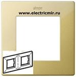 Изображение 2400620-066 Рамка 2 поста, золото
