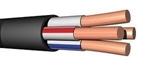 Изображение Кабель силовой ВВГнг(А)-LS 4х6ок(N)-0,66 ГОСТ