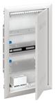 Изображение ABB Шкаф мультимедийный с дверью с вентиляционными отверстиями и DIN-рейкой (3 ряда) UK630MV