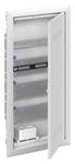 Изображение ABB Шкаф мультимедийный с дверью с вентиляционными отверстиями и DIN-рейкой (4 ряда) UK640MV