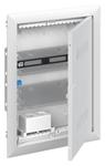 Изображение ABB Шкаф мультимедийный с дверью с вентиляционными отверстиями и DIN-рейкой UK620MV (2 ряда)