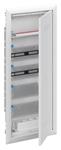Изображение ABB Шкаф мультимедийный с дверью с радиопрозрачной вставкой (5 рядов) UK660MW