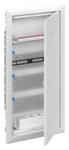 Изображение ABB Шкаф мультимедийный с дверью с радиопрозрачной вставкой UK648MW (4 ряда)