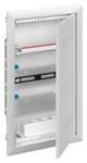 Изображение ABB Шкаф мультимедийный с дверью с радиопрозрачной вставкой (3 ряда) UK636MW