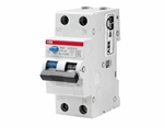 Изображение ABB DSH201R Дифференциальный автоматический выключатель 1P+N 6A 30mA (AC) хар. C