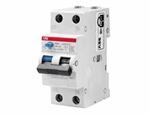 Изображение ABB DSH201R Дифференциальный автоматический выключатель 1P+N 10A 30mA (AC) хар. C