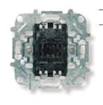 Изображение ABB NIE Мех 1-клавишной кнопки с нормально-закрытым контактом, 10А/250В