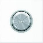"""Изображение ABB SKY Moon Клавиша для 1-клавишных выключателей/переключателей/кнопок с линзой подсветки, кольцо """"хром"""""""