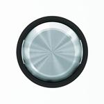 """Изображение ABB SKY Moon Клавиша для 1-клавишных выключателей/переключателей/кнопок, кольцо """"чёрное стекло"""""""