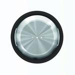 """Изображение ABB SKY Moon Клавиша для 1-клавишных выключателей/переключателей/кнопок с линзой подсветки, кольцо """"чёрное стекло"""""""