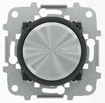 "Изображение ABB SKY Moon Мех электронного поворотного светорегулятора для LED, 2 - 100 Вт, кольцо ""чёрное стекло"""