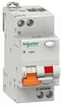 Изображение SE Домовой АД63 Дифференциальный автоматический выключатель 1P+N 25А 30мА